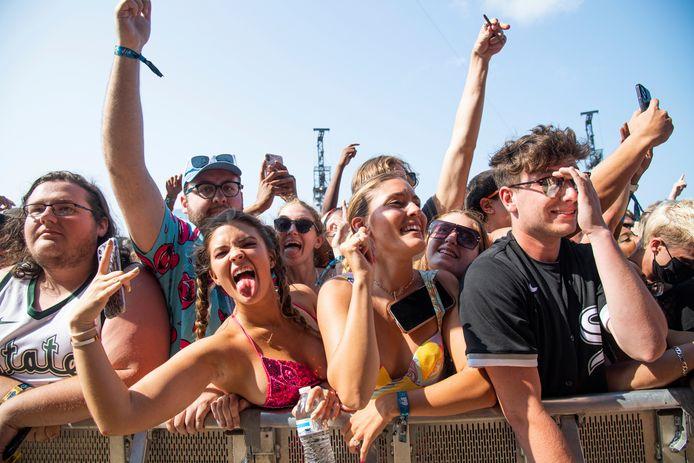 In Chicago werd enkele weken geleden gewoon gefeest op festival Lollapalooza.