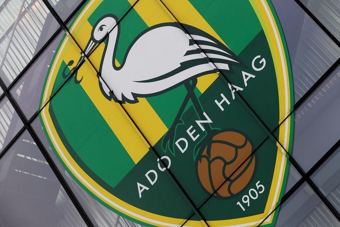 Het logo van ADO Den Haag.