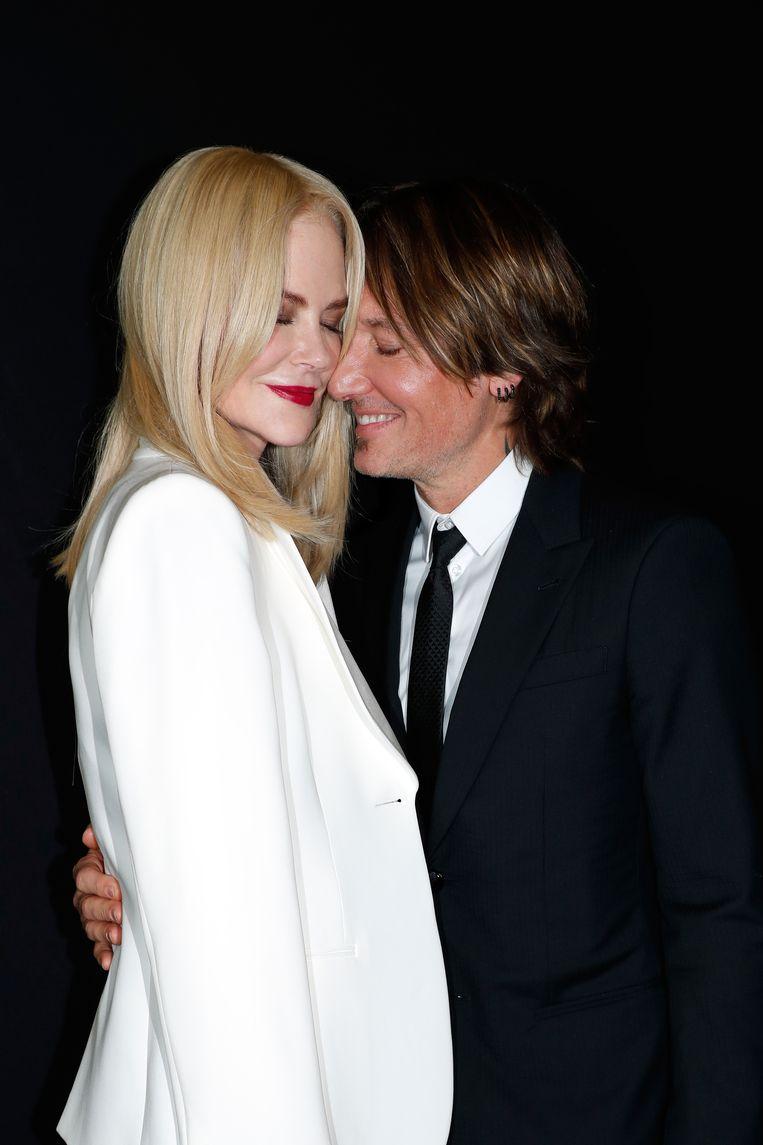 Kidman was elf jaar lang getrouwd met Tom Cruise, maar stapte in 2006 voor de tweede keer in het huwelijksbootje, met de Australische countryzanger Keith Urban. Beeld Getty Images