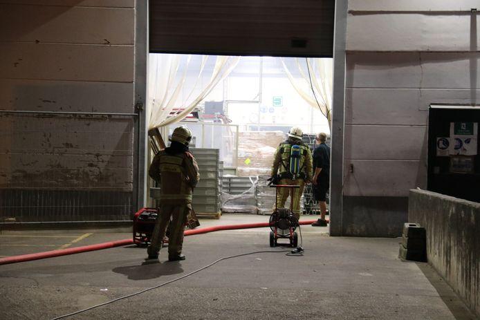 Het gebouw werd na de brand grondig verlucht.