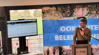 Sport Vlaanderen telt de klok rond mountainbikers op de Kesterheide