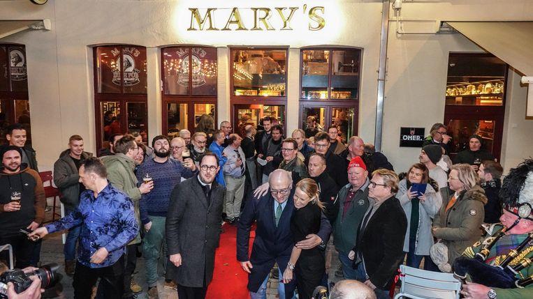 Kortrijk De nieuwe kroeg Mary's in Kortrijk is afgelopen weekend feestelijk geopend.