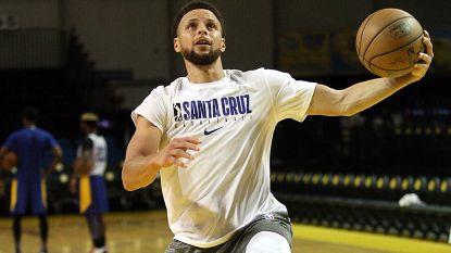 """Stephen Curry rekent na rampseizoen nog op Spelen: """"Was er niet mee bezig tot ik voelde dat ik klaar was om opnieuw te spelen"""""""