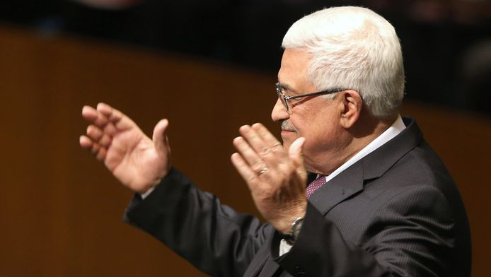 De Palestijnse president Mahmoud Abbas.