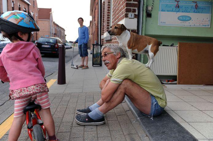 Fernand (68) was heel begaan met de buurt en iedereen die er woonde.