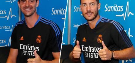 Thibaut Courtois et Eden Hazard de retour au Real Madrid