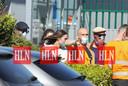 Brad Pitt landde maandag met een privéjet op Brussels Airport.
