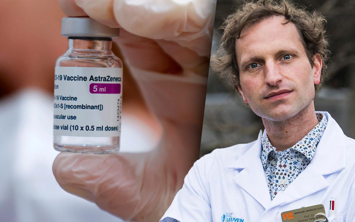 Professor Thomas Vanassche, cardioloog aan het UZ Leuven en vice-voorzitter van de Belgische Vereniging voor Trombose en Hemostase