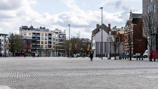 Stad legt laatste hand aan fietslus Kolonel Dusartplein
