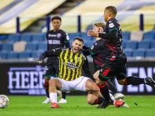 Zwak optreden Vitesse tegen hekkensluiter ADO: met gelijkspel richting de bekerfinale
