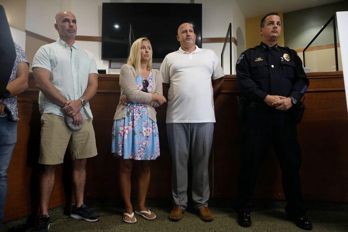 De ouders van de vermiste Gabby.