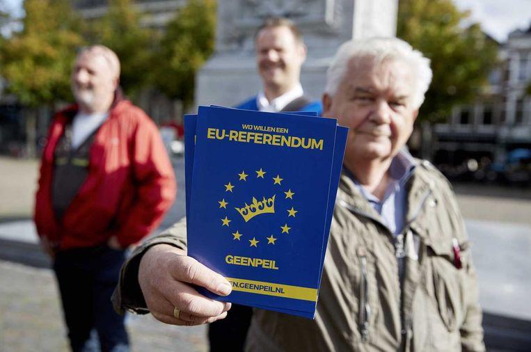 Als het aan het kabinet ligt, wordt het een sober referendum. Met belastinggeld moet je immers voorzichtig omspringen. Beeld anp