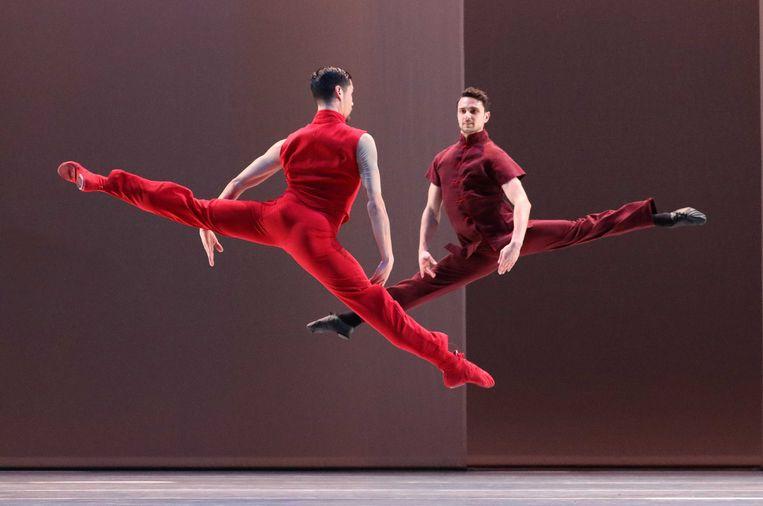 Chairman Dances van Lucinda Childs. Beeld Hans Gerritsen