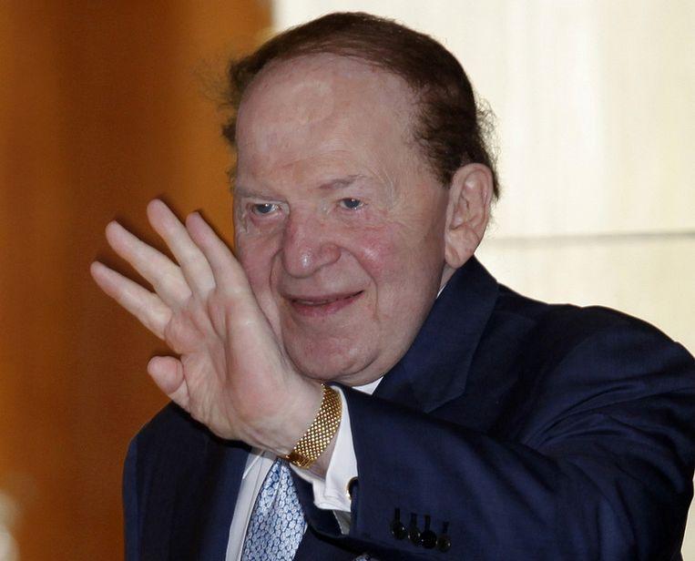 Sheldon Adelson Beeld ap