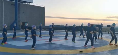 Zien: ook personeel LUMC danst de Jerusalema Challenge