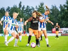 PSV-aanvaller Joëlle Smits: 'Als meisje van zes zag ik de jongens voetballen. Toen wist ik: dit wil ik ook'