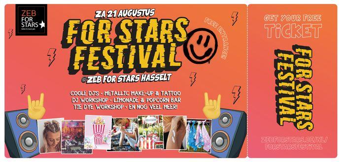 Het programma van het festival