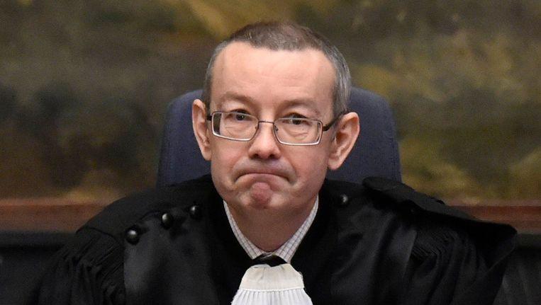 Rechtbankvoorzitter Pierre Hendrickx.
