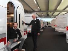 De top vijftien van caravans is te bewonderen in Grave: 'De caravan werd een mobiele bungalow'