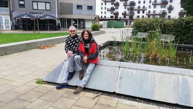 """Bewoners Groenplein starten petitie: """"Wij willen een fun-tein in plaats van een openbare vuilbak voor zwerfvuil"""""""