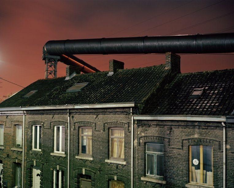 Een van de beelden uit de reeks 'La Ville Noire/The Dark Heart of Europe'. Beeld Giovanni Troilo