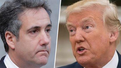 Trump hoopt op gevangenisstraf voor ex-advocaat Michael Cohen