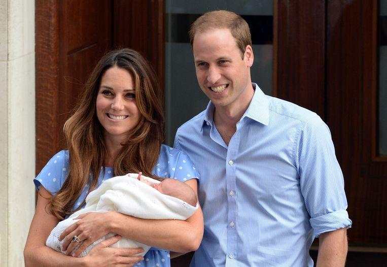 Ook de drie kinderen van William en Kate kwamen in de Lindo Wing van het St. Mary's Hospital in Londen ter wereld.