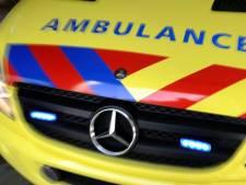Twee gewonden na botsing tegen geparkeerde vrachtwagen in Rijnsburg, 'bestuurder gevlucht'
