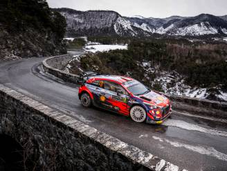 Neuville eindigt derde in Rally van Monte Carlo, Ogier pakt recordzege