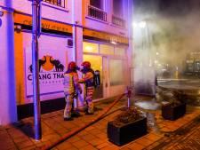 Brand bij restaurant Chang Thai in Eindhoven; 'Ik hoorde wat tikken'
