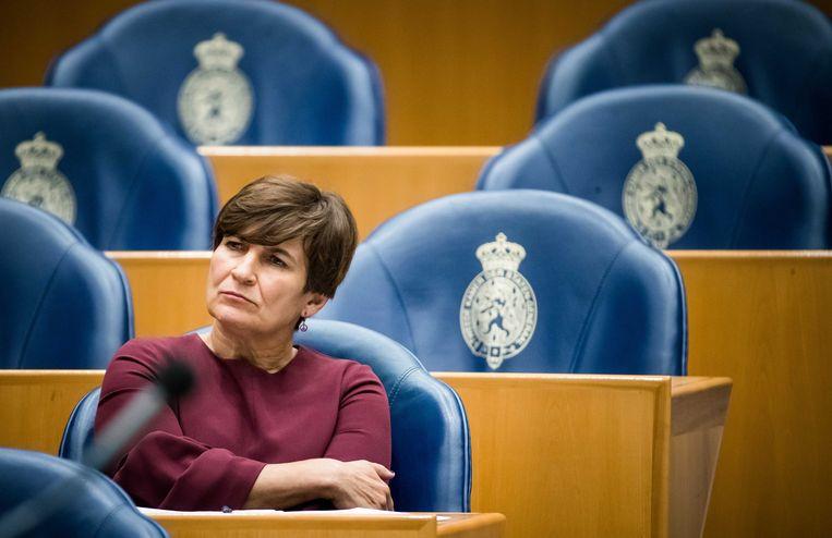 Lilianne Ploumen (PvdA) is nu (nog) Tweede Kamerlid Beeld ANP