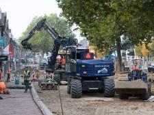 Wegwerkzaamheden centrum Rhenen uitgesteld door de kou