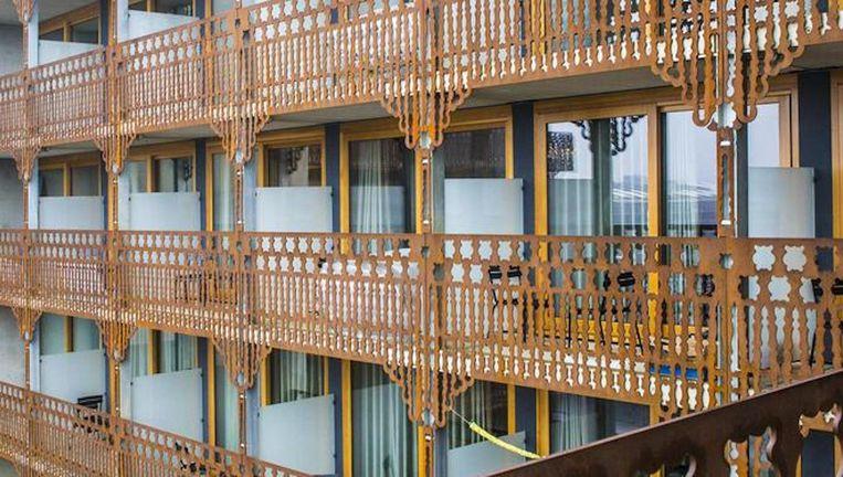 Een gemeubileerde kamer van dertig vierkante meter kost hier 1250 euro. Beeld Floris Lok