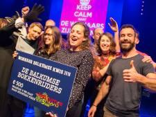 Bokkenrijders winnen voor derde keer Balkumse Kwis