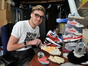De hele wereld vraagt hulp van sneakerfluisteraar Roel
