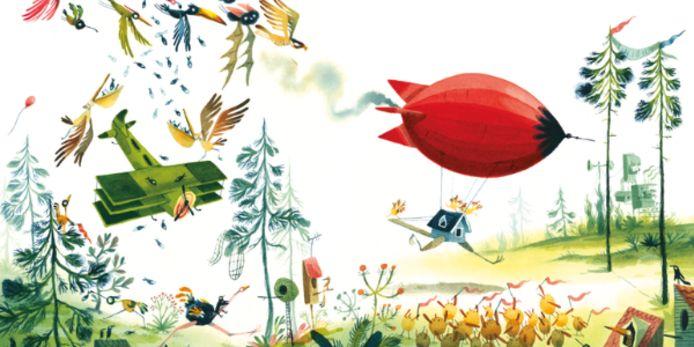 Sebastiaan Van Doninck is één van de tien illustratoren die zijn werk mag voorstellen in Bratislava.