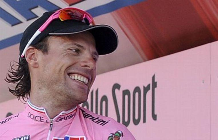 Danilo Di Luca voorspelt een Tourzege voor Lance Armstrong. Beeld UNKNOWN