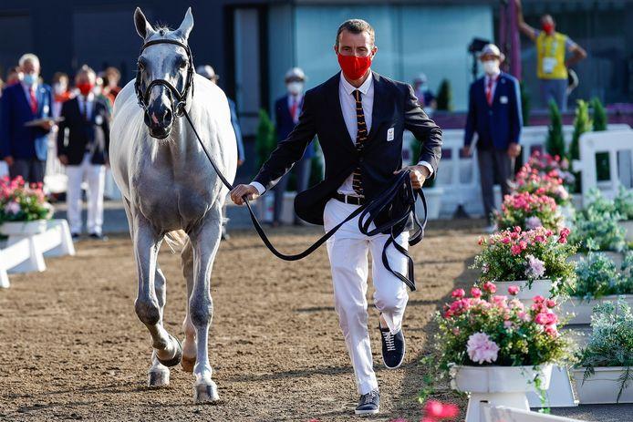 Grégory Wathelet met zijn paard Nevado S.
