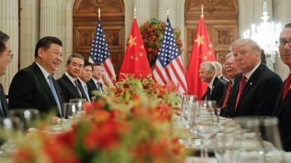 Trump en Xi zien na lang gesprek voorlopig af van nieuwe invoerheffingen