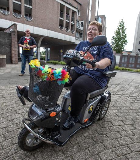 In de kreukels door fietser op berucht voetpad in Helmond
