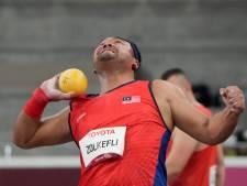 Le lanceur de poids malaisien Zolkefli perd sa médaille d'or pour être arrivé en retard