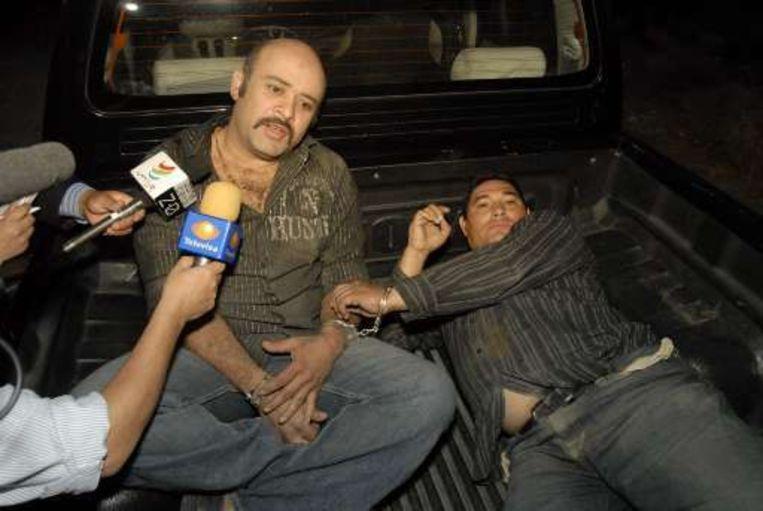 Twee mannen die betrokken waren bij de schietpartij spreken met de pers.