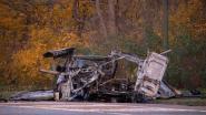 Bestuurder levensgevaarlijk gewond na explosie in bestelwagen