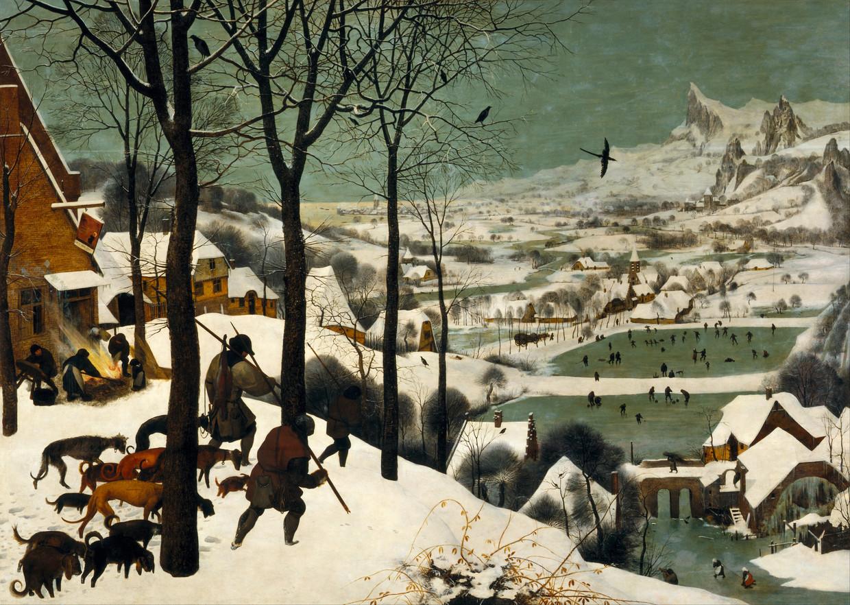 Winterscenes Beeld Pieter Brueghel
