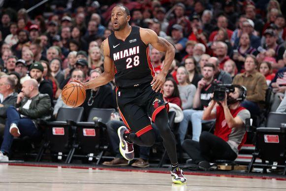 Andre Iguodala voor zijn nieuwe team: Miami Heat