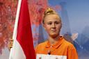 Skateboardster Keet Oldenbeuving (foto) en sprinter Churandy Martina van Team NL zijn de vlaggendragers op de de Olympische Spelen.