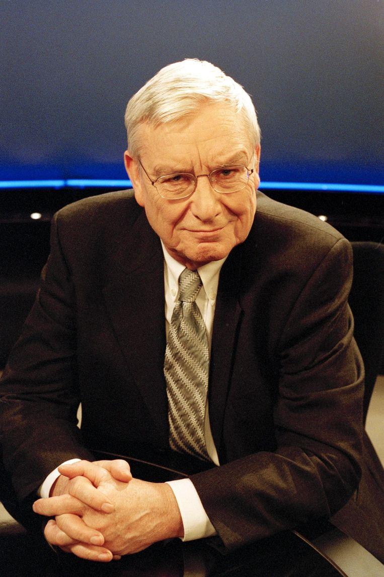 Walter Zinzen, voormalig VRT-journalist. Beeld Lies Willaert