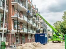 Nieuwe flat Schuijlenburchstraat bijna klaar