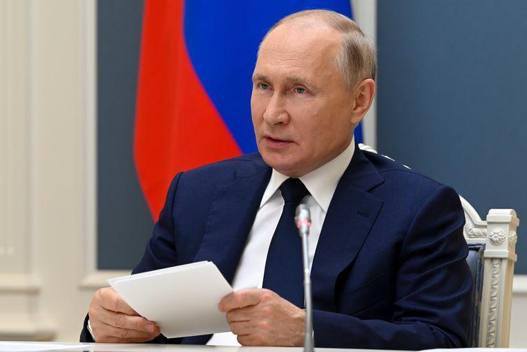 'Als ze de Russische wet niet overtreden, is er geen enkele reden om ze te vervolgen in Rusland', zei president Poetin over de hackers in een interview met NBC in 2018. Beeld AP