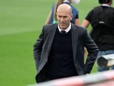 Le Real Madrid confirme le départ de Zinédine Zidane